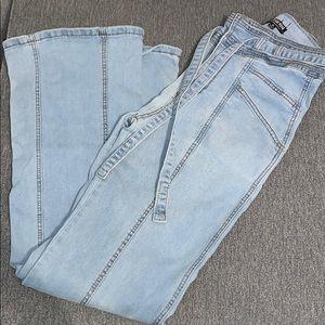 High waisted bell bottom jeans!!!